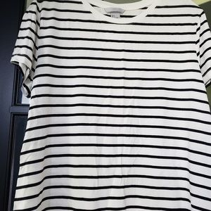 H&M new with tags striped tshirt